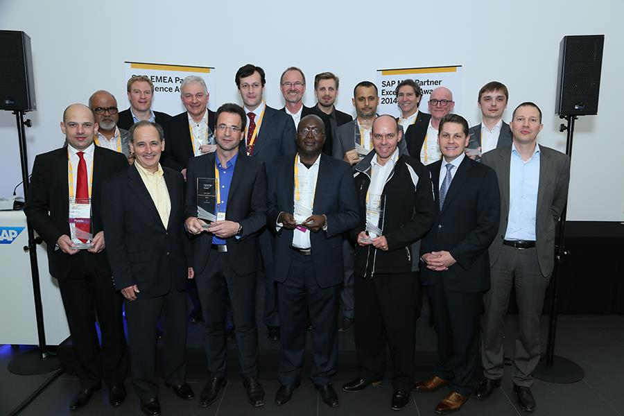 2014 – SAP MEE Partner Excellence Award w tekście