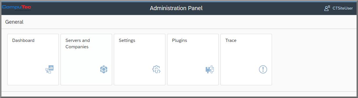 CompuTec AppEngine Administration Panel
